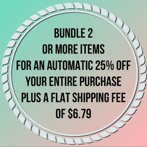 Bundle & SAVE! FAQ Vintage and modern treasures💕